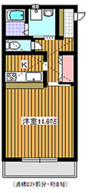 和光市駅 徒歩10分2階Fの間取り画像