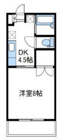 カーペンターハウス2階Fの間取り画像