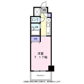 TAKAHASHI MANSION22階Fの間取り画像
