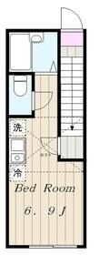 生田駅 徒歩8分2階Fの間取り画像