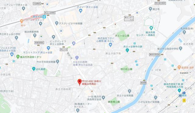 サンライズ横浜案内図