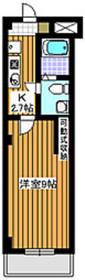 アビターレK3階Fの間取り画像