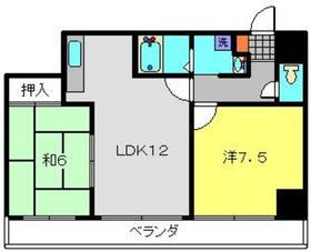 グリーンヒル弥生台3階Fの間取り画像