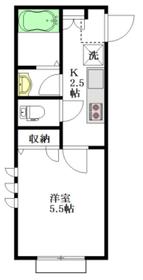 仮称 中野区若宮1丁目建築計画2階Fの間取り画像