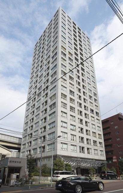 レジディアタワー麻布十番の外観外観