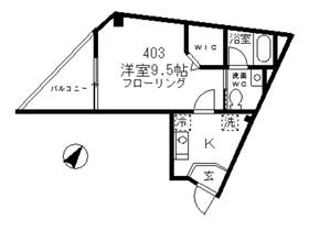 クリサンス小石川4階Fの間取り画像