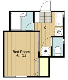 KOOKAI1階Fの間取り画像