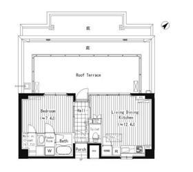 ACOLT新宿落合6階Fの間取り画像