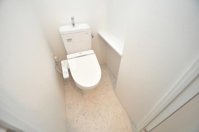 グランドゥーエ永和駅前 清潔感のある爽やかなトイレ。誰もがリラックスできる空間です。