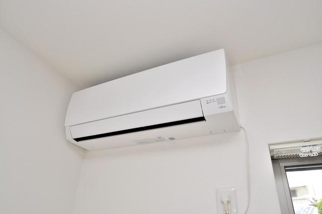 クリエオーレ稲田本町 うれしいエアコン標準装備。快適な生活が送れそうです。