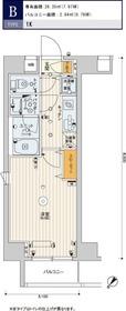 スカイコートパレス押上Ⅱ4階Fの間取り画像