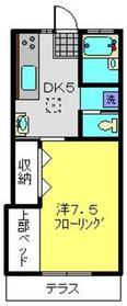 プレジオNAKADA1階Fの間取り画像