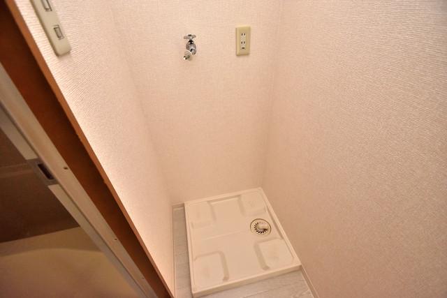 ヴィラサンライフ 室内に洗濯機置き場があれば雨の日でも安心ですね。
