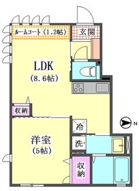 (仮称)西蒲田4丁目新築アパートD棟 102号室