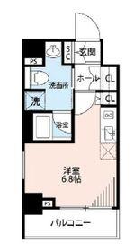 プレール・ドゥーク横濱紅葉坂2階Fの間取り画像