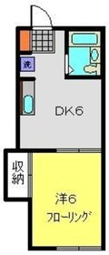 保土ヶ谷駅 徒歩12分2階Fの間取り画像