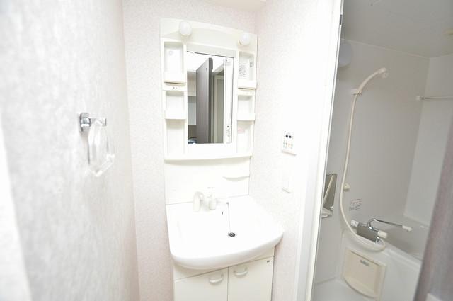 CASSIA高井田NorthCourt 人気の独立洗面所にはうれしいシャンプードレッサー完備です。