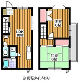 成増駅 徒歩13分1-2階Fの間取り画像