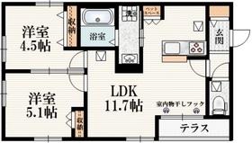 田無駅 徒歩15分1階Fの間取り画像