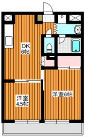 地下鉄赤塚駅 徒歩3分1階Fの間取り画像