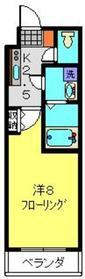 K`Flats3階Fの間取り画像
