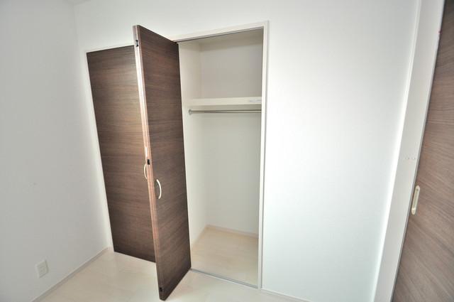 E maison 巽東 コンパクトながら収納スペースもちゃんとありますよ。