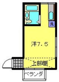 星川駅 徒歩14分2階Fの間取り画像