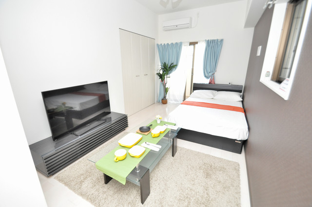 Luxe布施駅前 朝には心地よい光が差し込む、このお部屋でお休みください。