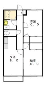 ピロティシータ2階Fの間取り画像