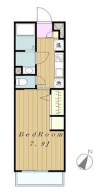 リブリ・ゆずり葉2階Fの間取り画像