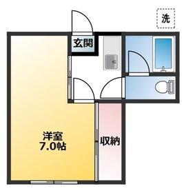 幡ヶ谷駅 徒歩13分1階Fの間取り画像