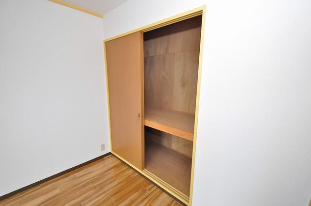 メダリアン巽 収納がたくさんあると、お部屋がすっきり片付きますね。