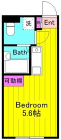 KeiEi稲田堤1階Fの間取り画像