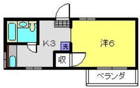 ナチュラルハウス2階Fの間取り画像