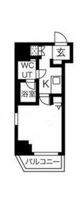 スパシエルクス横濱鶴見9階Fの間取り画像