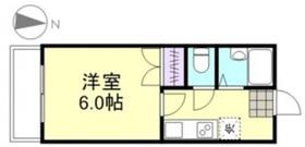 プリード倉敷2階Fの間取り画像