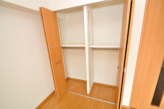 Gransisu Takaida もちろん収納スペースも確保。いたれりつくせりのお部屋です。
