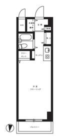 ペガサスマンション浄心寺坂2階Fの間取り画像