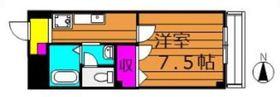 ビューハイツ吉備路2階Fの間取り画像