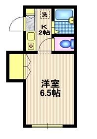 アネックス東山2階Fの間取り画像