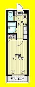 荻窪駅 徒歩20分3階Fの間取り画像