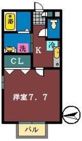 アンビシャス2階Fの間取り画像