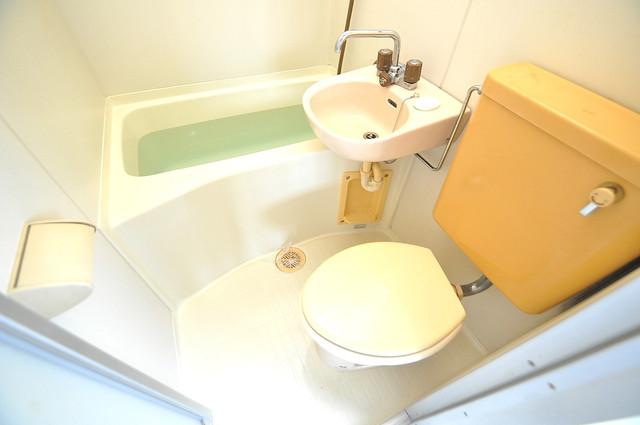 ハイム上小阪 シャワー一つで水回りが掃除できて楽チンです