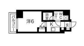 スパシエソリデ武蔵小杉4階Fの間取り画像