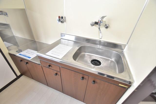 グランドメゾン樋口 シンプルなキッチンです。あなた好みのコンロを置いてくださいね。