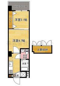 ハーバーサウスタワー No.70 : 7階間取図