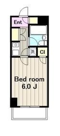 クレスト大和東5階Fの間取り画像