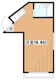 ウィル武蔵大和3階Fの間取り画像