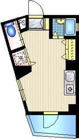 ドリーム白金6階Fの間取り画像