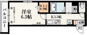 仮称 飛田給Ⅰマンション2階Fの間取り画像